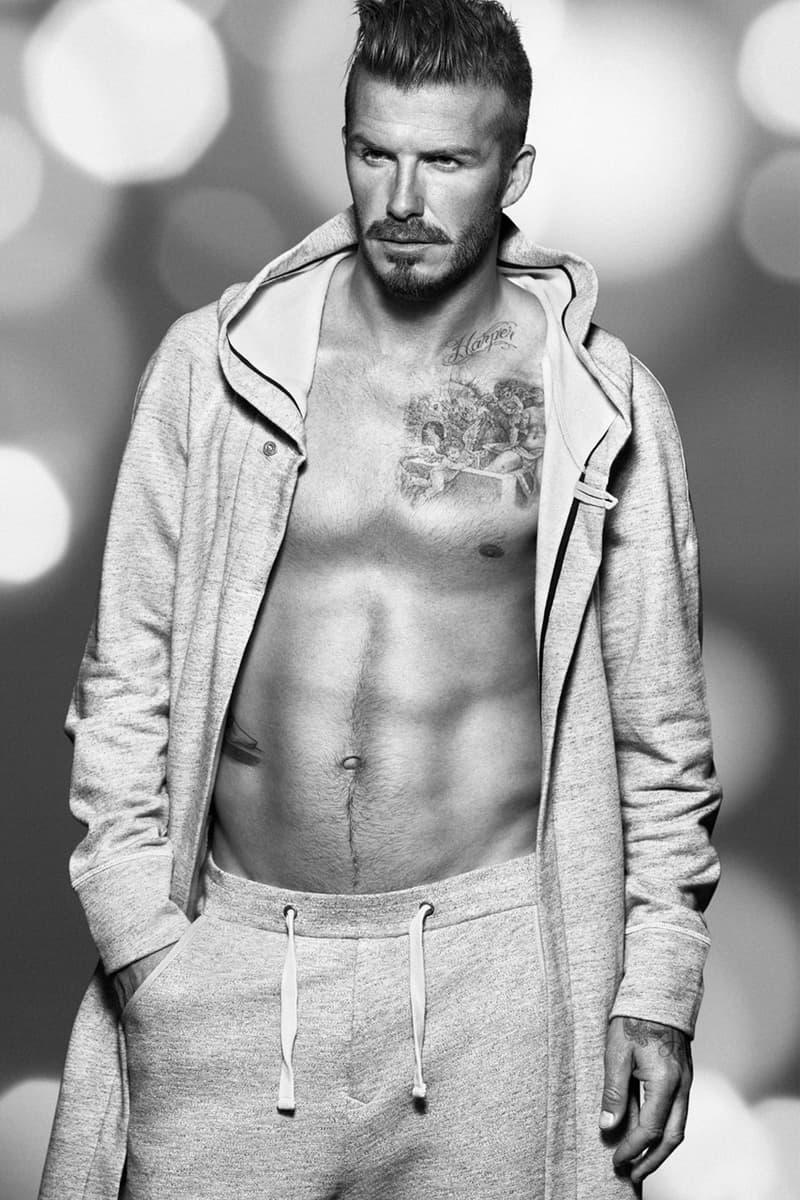 David Beckham For Hm Christmas Campaign Hypebeast