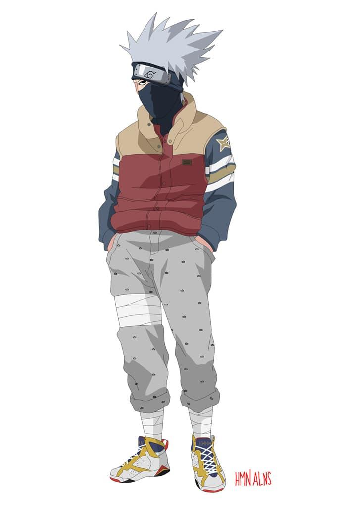 Naruto Gets The Rocksmith Treatment Via Human Aliens Hypebeast