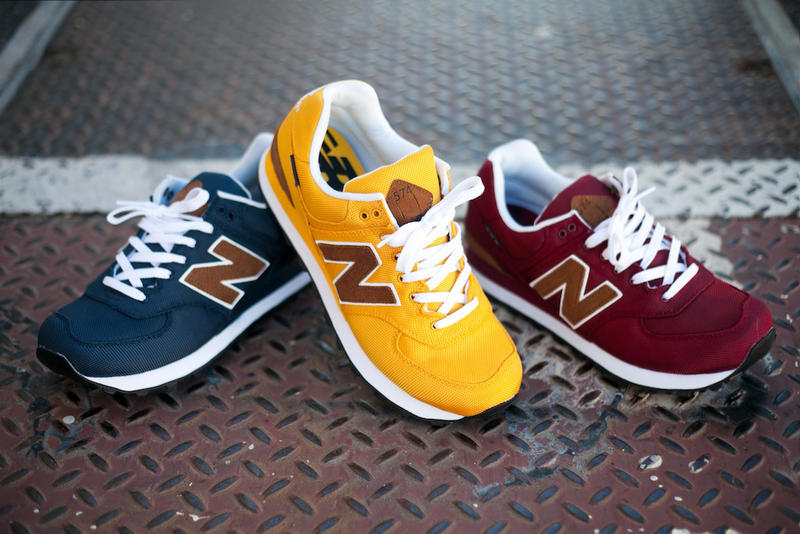 """the latest cef81 36546 New Balance welcomes three new additions to its New Balance 574 """"Backpack""""  collection. Available"""