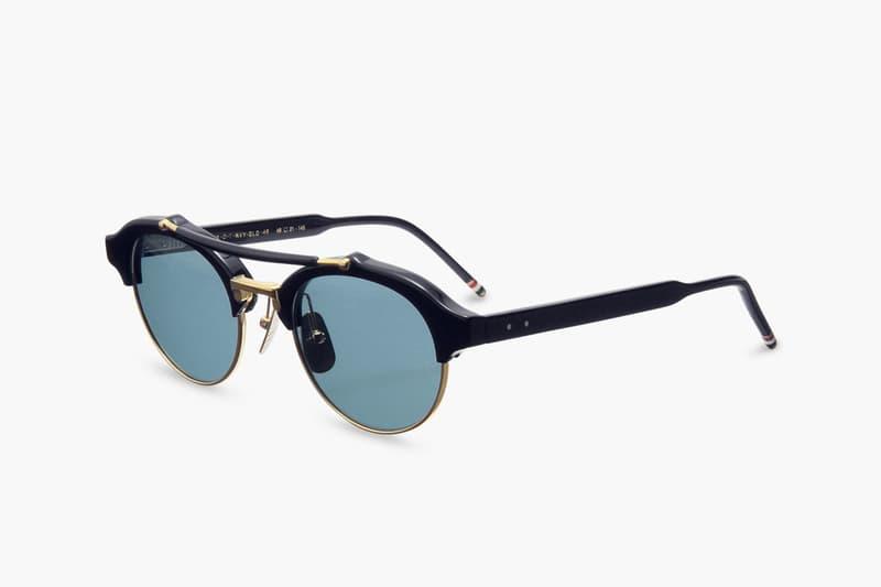 1277a4c783c Thom Browne Round Gold Frame Sunglasses