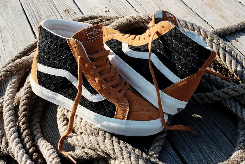 ad36efe2cb74c2 DQM x Vans 2012 Holiday Woven Era   Sk8-Hi. Taking a new approach to a  couple of classic footwear mainstays
