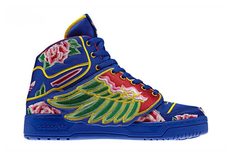 best website 9a5a3 6d406 Eason Chan x adidas Originals by Jeremy Scott 2013 JS Wings