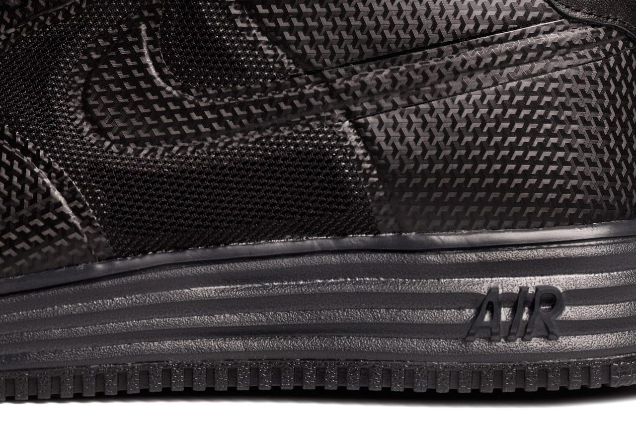 Nike Lunar Force 1 Fuse NRG Black Anthracite