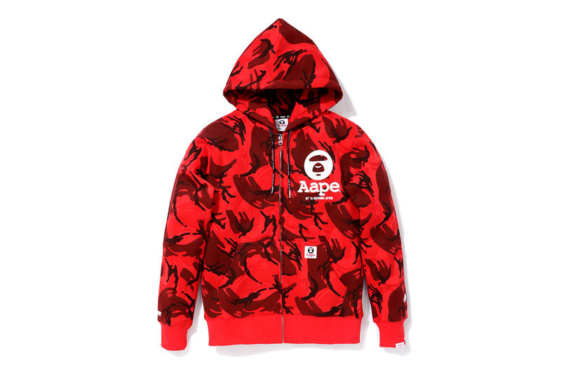 c8a942496c4 AAPE by A Bathing Ape 2013 Red Camo Collection