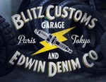 BLITZ Motorcycles x Edwin Capsule Collection