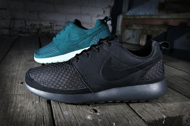 6963905a390cd Nike presents two new iterations of its ever popular Roshe Run with a new  woven construction. The