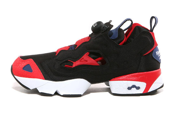 e4553a8aac31 ... Reeboks Pump Fury returns this spring in a new Classic BlackRedBlue  colorway thats sure to