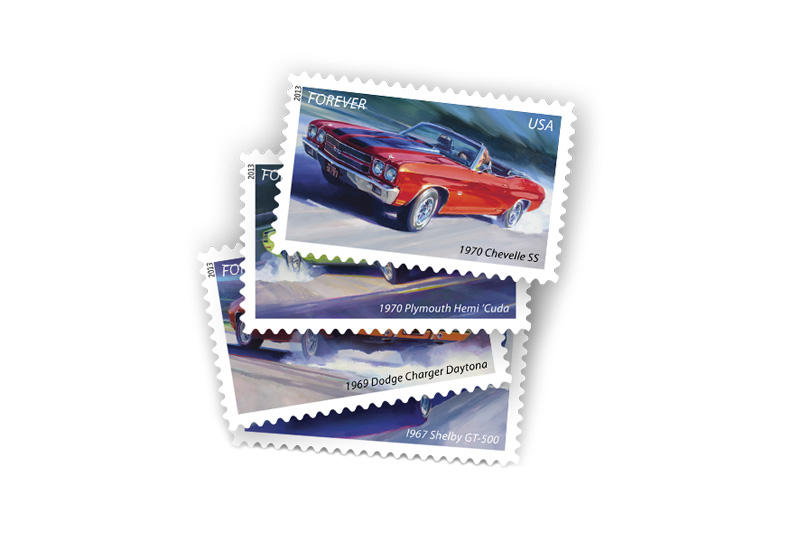 The Latest Set Of Limited Edition Stamps From United States Postal Service Features One