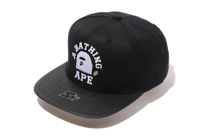 cf4a2742 A Bathing Ape and Starter have come together once again, this time to  create a collaborative