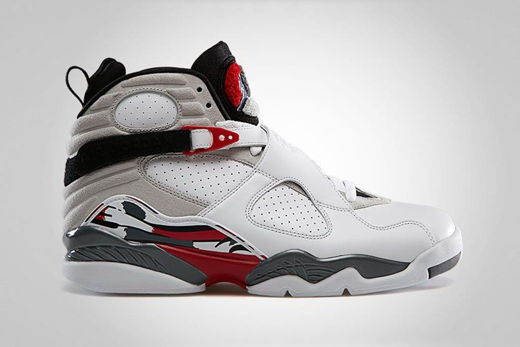Air Jordan 8 Retro White/True Red