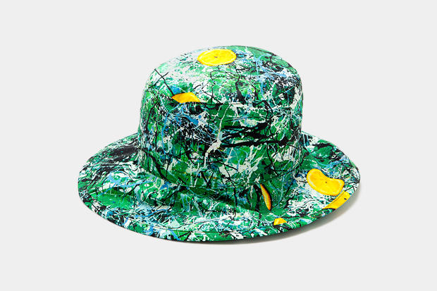 The Stone Roses x A.FOUR Bucket Hat. London-based artist Lucas Price and  his clothing brand A.FOUR teams up with English rock band The 3ea396248f3