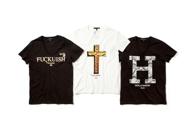 HOLLYWOOD MADE x VANQUISH 2013 Spring/Summer T-Shirt Collection