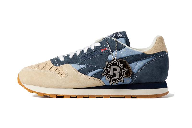 418d208c86b mita sneakers x Reebok Classic Leather 30th Anniversary. It s not often  that chambray