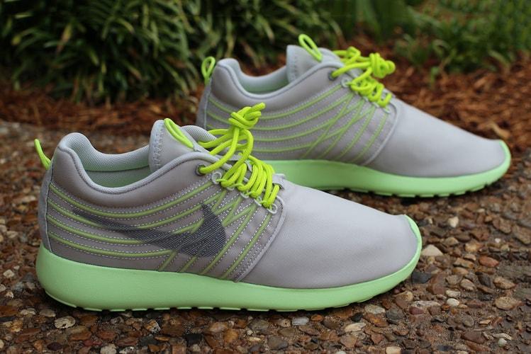 promo code 00c96 3930f Nike Roshe Run Dynamic Flywire Grey Cyber