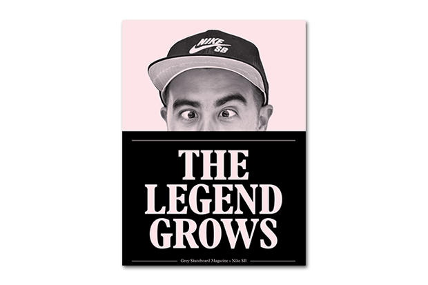 "Nike SB x Grey Skateboard Magazine ""The Legend Grows"" Zine"
