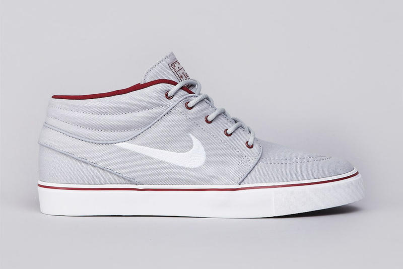 competitive price 046ff eb790 Nike SB Zoom Stefan Janoski Mid Wolf Grey White-Team Red
