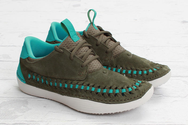 "Nike Solarsoft Moccasin Premium Woven ""Tarp Green"""