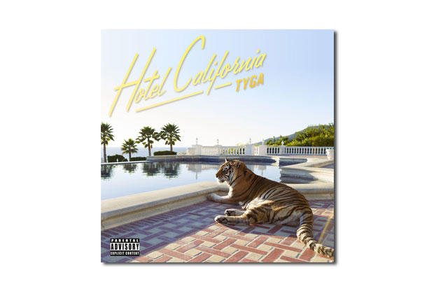 Tyga Hotel California Artwork