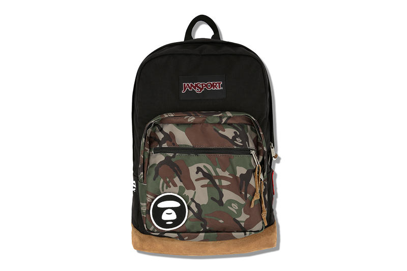 aab993af498 AAPE by A Bathing Ape x JanSport 2013 Capsule Collection