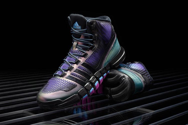 adidas Crazyquick Black Purple Teal abcb234ad