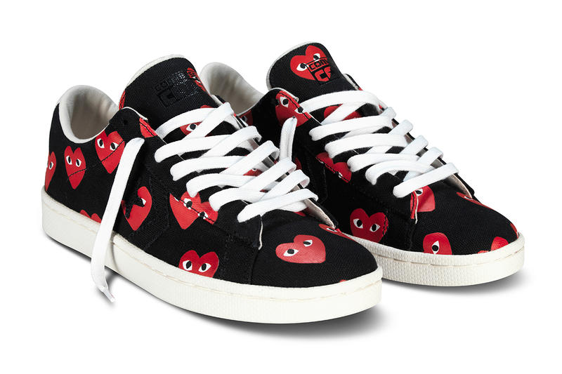 6720ac6fd447b6 Mainstay COMME des GARÇONS aligns its PLAY imprint yet again with Converse  for a series of 2013
