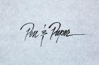 Pen & Paper: Jose Lopez