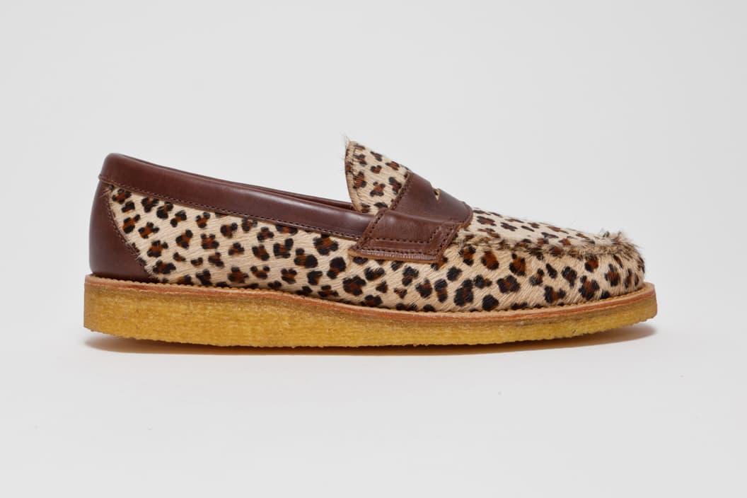 "Yuketen Penny Loafer ""Leopard"""