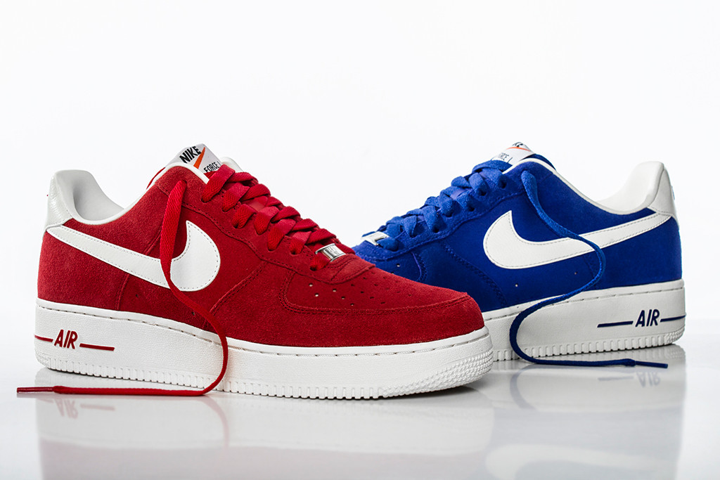 Nike air force office london Schuh Borrowing Inspiration From Another Nike Classic The Latest Air Force 1s From The blazer Pack Are London Hotel Guide Nike Air Force Hyper Blue And University Red Hypebeast