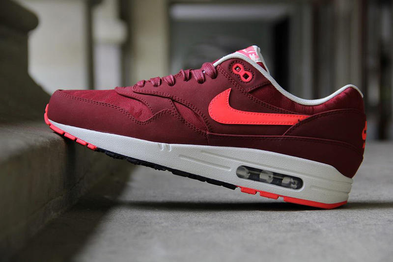 factory authentic 4d55c 83c23 Coming soon from Nike is a new team red atomic red colorway of the Air Max  1 Premium. This version