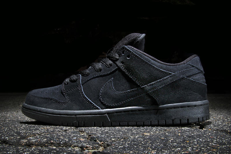 hot sale online a31b5 cb99e For the purists, Nike SB has released a new rendition of their ever-popular Dunk  Low Pro silhouette