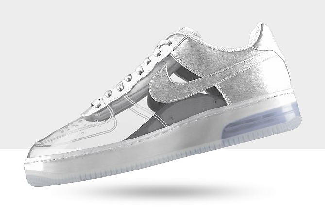 huge selection of 89c35 22ef1 NIKEiD Air Force 1 Invisible and Sparkle Patent Options Now Available. For  better or worse, NIKEiD has opened new avenues for anyone with a creative  mind to ...