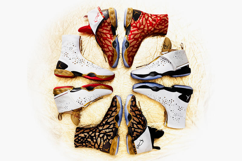 purchase cheap cf109 e6278 Ray Allen s Golden Air Jordans for the 2013 NBA Finals. Reaching the NBA  Finals is the epitome of a successful season. As the Miami Heat gear up to  play