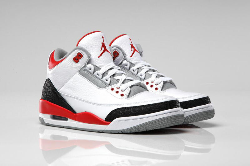 """official photos de977 8fb19 Last released in 2007, the Air Jordan 3 Retro """"Fire Red"""" is set to return  this August. The """"Fire"""