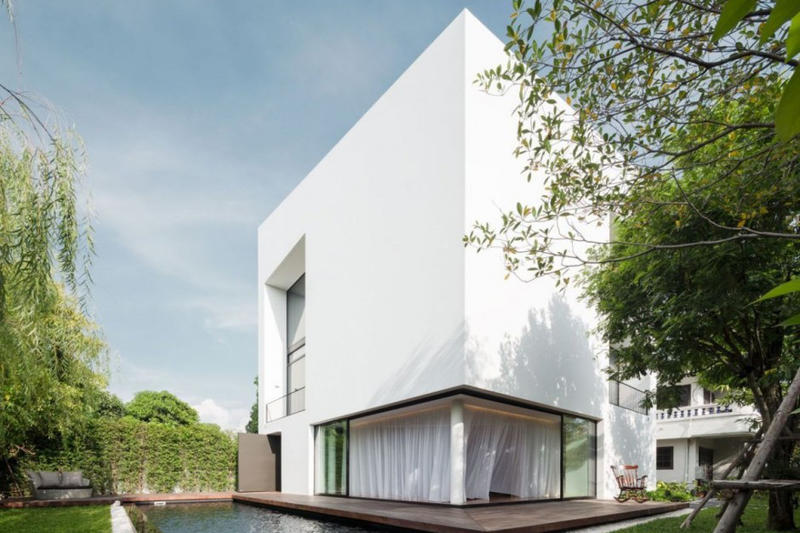Baan Moom House by Integrated Field