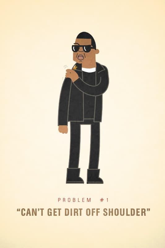 Jay-Z's 99 Problems Illustrations by Ali Graham