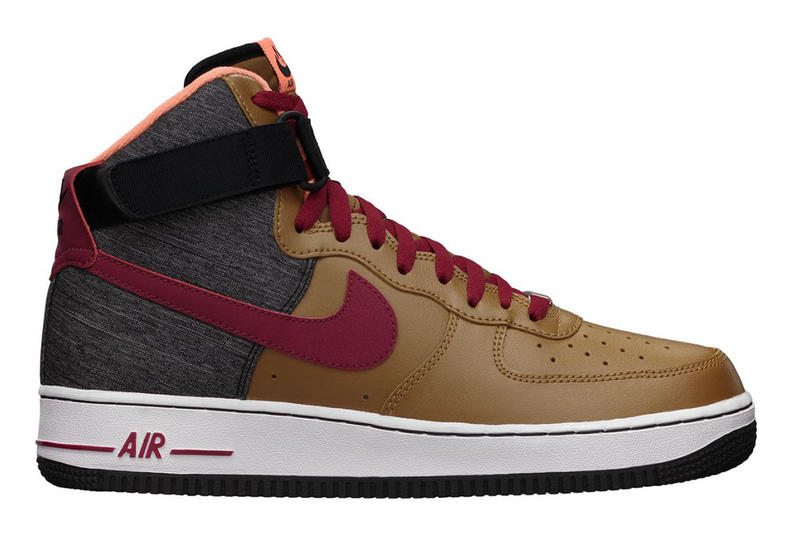 super popular dc59a 260cc Nike Sportswear releases another colorway to the Air force 1 High 07, this  time in an Ale Brown,