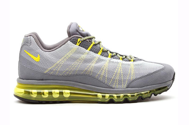 low priced a91e9 2ac95 nike air max 95 dynamic flywire cool grey sonic yellow