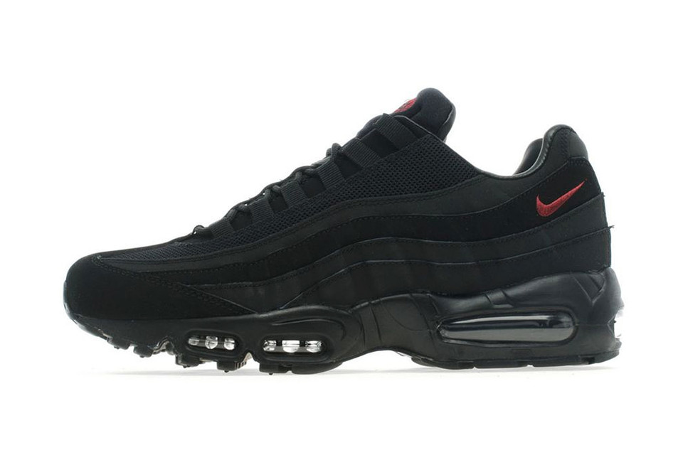 online retailer fb70d e1baf Nike Air Max 95 Black Team Red. JD Sports out of Manchester, England ...