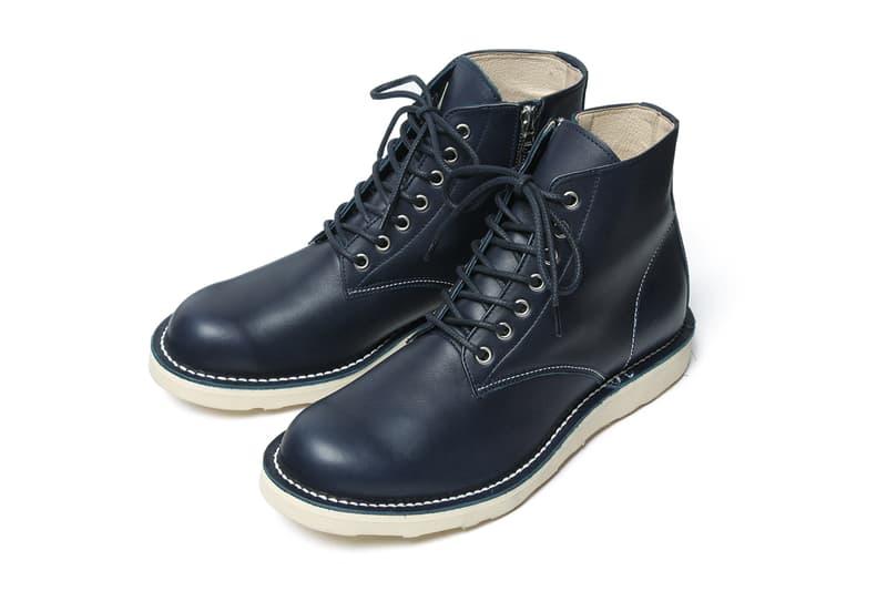 2b55615b5bb SOPHNET. 2013 Fall/Winter 7-Hole Zip Up Work Boots   HYPEBEAST