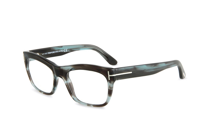 a127008877 Tom Ford Blue Havana Glasses. From Tom Ford s eyewear collection comes this unique  blue flame colorway of the designer s classic