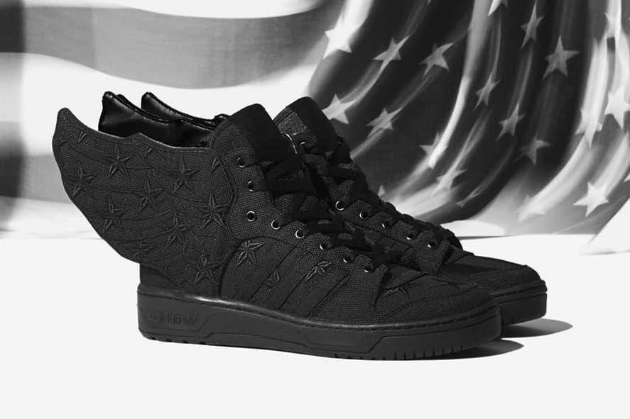 A$AP Rocky x adidas Originals by Jeremy Scott JS WINGS 2.0 BLACK FLAG