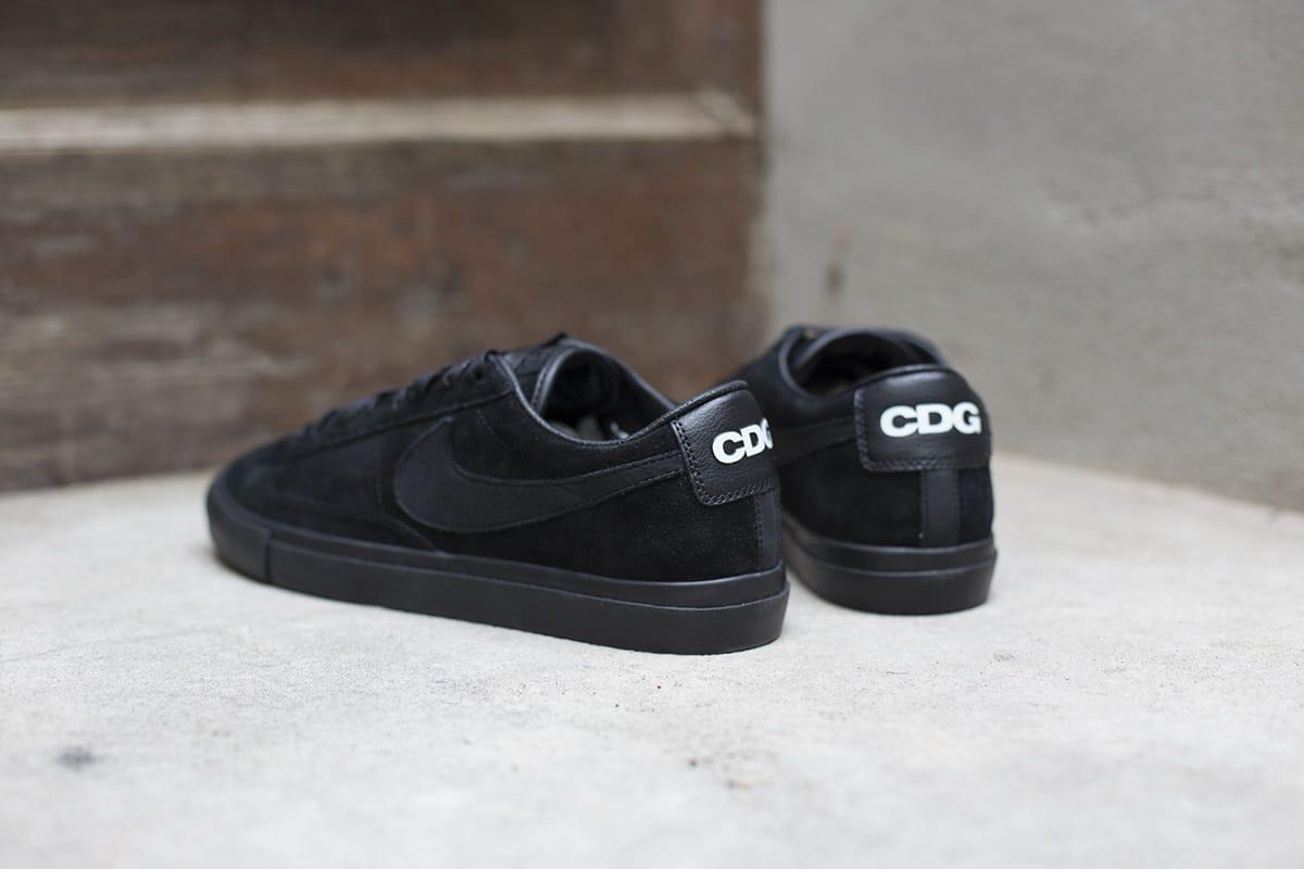 BLACK COMME des GARCONS x Nike Blazer