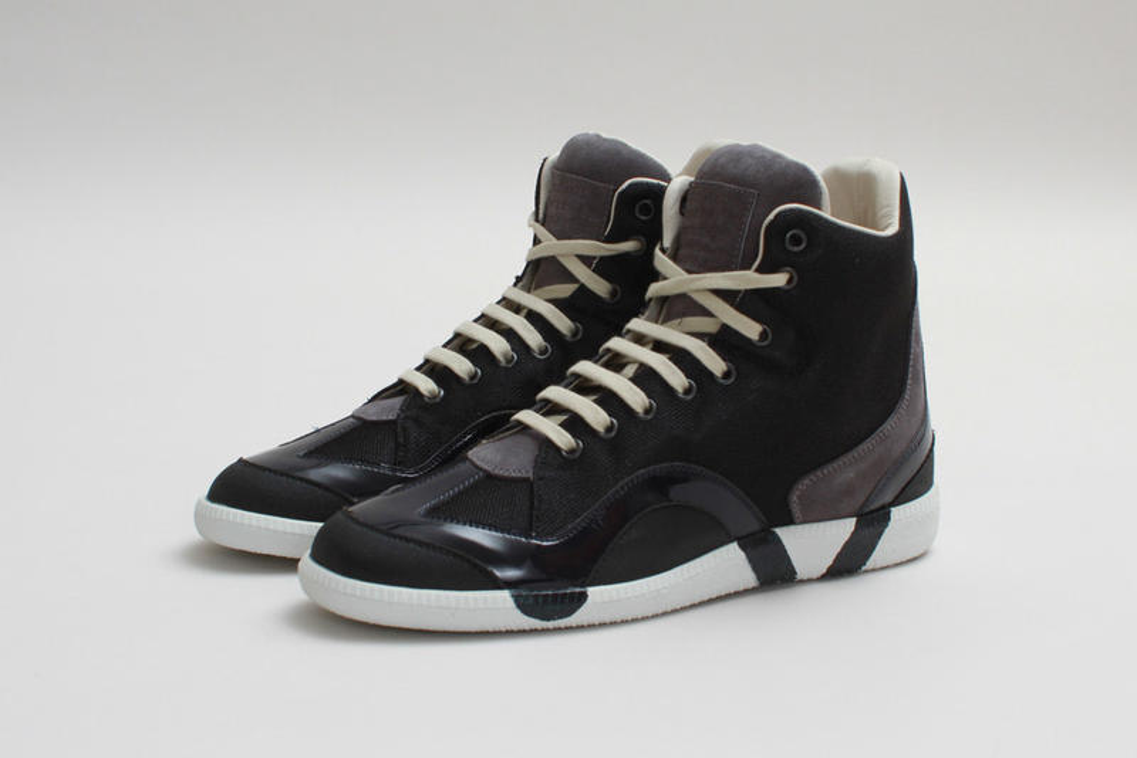 Maison Martin Margiela 2013 Fall/Winter High-Top Sneaker Black/Grey