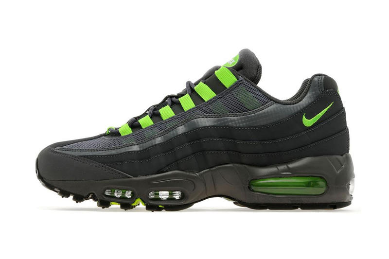 premium selection 08ca4 86145 Nike Air Max 95 Dark Grey Flash Lime JD Sports Exclusive