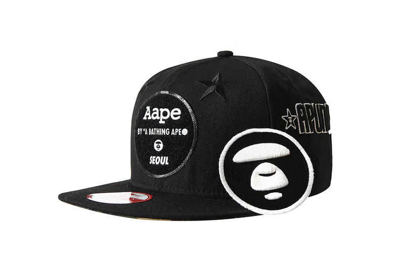 1c6ced9e1e0 AAPE by A Bathing Ape x New Era Seoul Limited Edition Cap