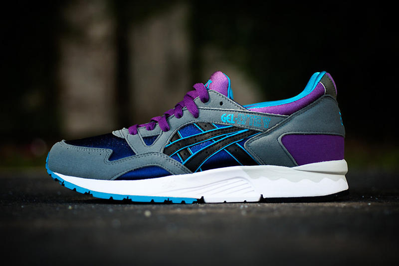 3b7965e4a98f ASICS have released the Gel Lyte V in a great looking grey purple colorway  that features grey