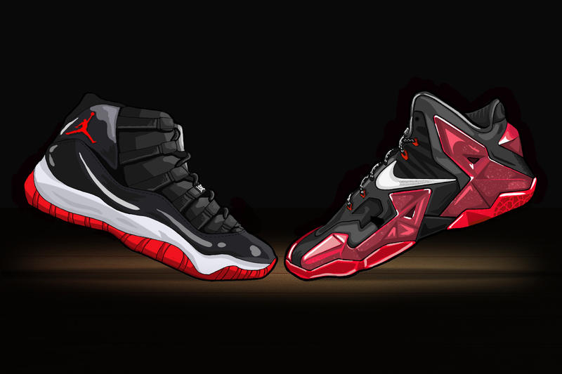 ea6735aff9e Gary Warnett Weighs In On Whether LeBron s Shoe Line Can Ever Reach the  Heights of Jordan Brand