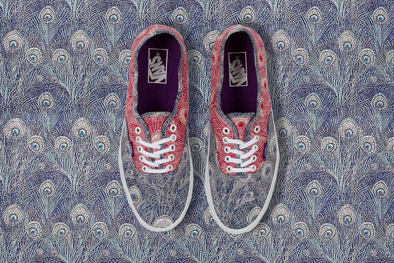 069c23735ae03f After our initial exclusive look into the Liberty x Vans collaboration