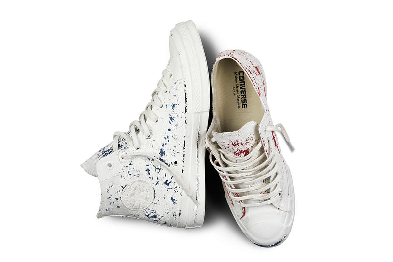 9026209c705f25 Maison Martin Margiela and Converse have finally unveiled details of their  highly-publicized