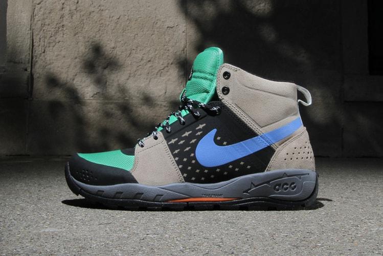 sneakers for cheap 93a2f 6ac66 Nike ACG Alder Mid Khaki Gamma Green-Black-Distance Blue. Footwear Fashion